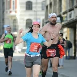 Tet Riga Marathon - Agita Grizāne (255), Arkadiusz Osiak (1212)