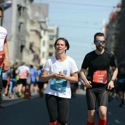 Tet Riga Marathon - David Magnan (1900), Alise Ansone (11305)