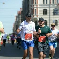 Tet Riga Marathon - Itai Zapler (744), Eric Kachko (789)