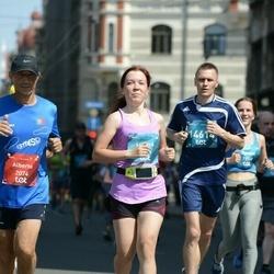 Tet Riga Marathon - Alberto Pimenta (2074), Ļubova Fintjugova (9505), Evgeniy Didenko (14614)