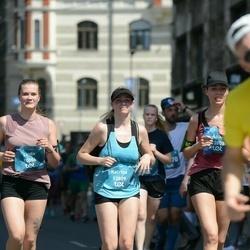 Tet Riga Marathon - Linda Senkāne (10086), Anita Stūre (13808), Katrīna Lagzdiņa (13809)