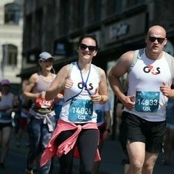 Tet Riga Marathon - Ginta Zvaigzne (14826), Ēriks Zvaigzne (14833)
