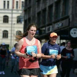 Tet Riga Marathon - Hristīna Adamoviča (13798), Anna Puškarjova (14597)