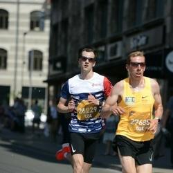 Tet Riga Marathon - Anete Zunte (26225), Aigars Feteris (27685)