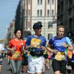 Tet Riga Marathon - Anda Auce (21855), Ēriks Zaics (23629)