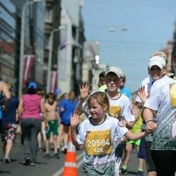 Tet Riga Marathon - Ainārs Kārkliņš (20582), Katrīna Kārkliņa (20584)