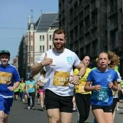 Tet Riga Marathon - Evija Šteinberga (13684), Mārcis Ļaksa (25867)
