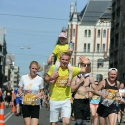 Tet Riga Marathon - Zane Riežniece (21564), Annija Riežniece (23807), Siarhei Koval (27375)