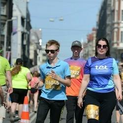 Tet Riga Marathon - Sandra Missa (21515), Alekss Lutums (26045), Reinis Dovkants (27922)