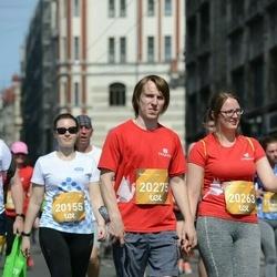 Tet Riga Marathon - Anastasija Alkšere (20155), Lelde Ģērmane (20263), Elza Poriķe (20275)