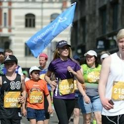 Tet Riga Marathon - Aleksandra Holmačova (25630), Adrians Lukaševics (27602)