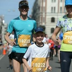 Tet Riga Marathon - Alvar Keikko (18222), Tommi Keikko (18223)