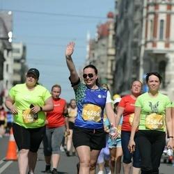 Tet Riga Marathon - Ginta Martinsone (24286), Santa Ašaka (25844)