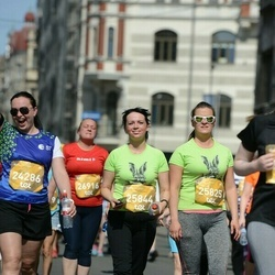 Tet Riga Marathon - Ginta Martinsone (24286), Anda Vērse (25825), Santa Ašaka (25844)
