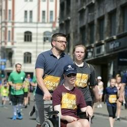 Tet Riga Marathon - Matīss Šaus (25638), Ernests Ansonskis (25639), Grieta Japiņa (27340)