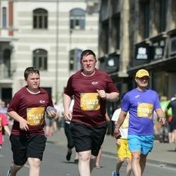 Tet Riga Marathon - Emīls Štelcs (25417), Ingus Štelcs (25427), Aivars Zvīdris (25781)