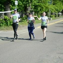 Tet Riga Marathon - Eva Pāvulsone (8223), Laura Bodniece (8224), Ralfs Aigars Rozītis (8226)