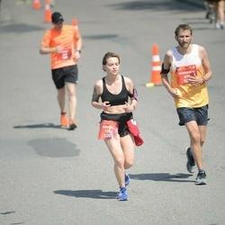 Tet Riga Marathon - Valeria Chernous (728), Alexandre Huffenus (877)