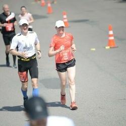 Tet Riga Marathon - Evija Kļave (410), Atis Kļavis (493)