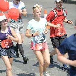 Tet Riga Marathon - Aija Melezere (766), Žanete Podniece (1843), Santa Birģele (2172)
