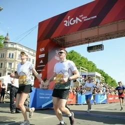 Tet Riga Marathon - Andris Dimants (20816), Agnese Dimante (20817)
