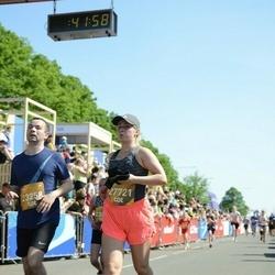 Tet Riga Marathon - Fjodors Kaltigins (23258), Tīna Siliņa (27721)