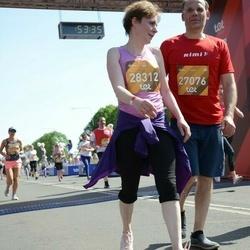 Tet Riga Marathon - Aigars Grundulis (27076), Andželika Tālmane (28312)