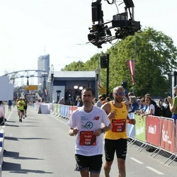 Tet Riga Marathon - Gintaras Drebulys (133), Andrii Manokhin (1864)
