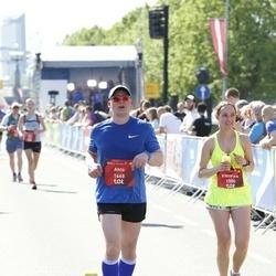 Tet Riga Marathon - Viktoryia Leus (1500), Ahto Hinn (1668)