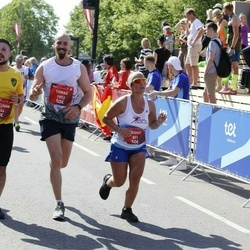 Tet Riga Marathon - Zehavit Rozen (851), Tomas Nuñez Fierrez (1952), Abraham Chicon Vidal (1964)