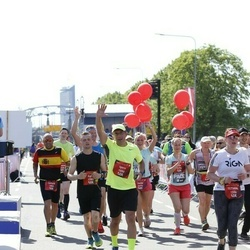 Tet Riga Marathon - Tetiana Shevelenko (1336), Igors Soboļevs (1550), Egīls Baumanis (1789), Carlos De Felipe Ruiz (1969), Santa Birģele (2172), Aija Freiberga (2174)