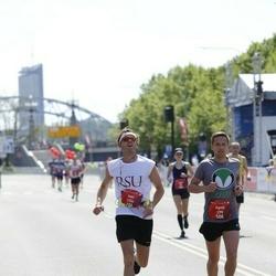 Tet Riga Marathon - Agnis Mūrnieks (279), Evita Biezmane (1774)