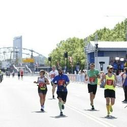 Tet Riga Marathon - Yurii Bashlii (993), Andrii Opanasenko (1134), Andris Lejnieks (2048)