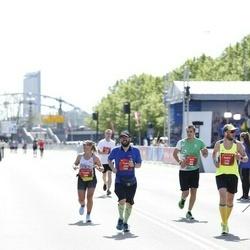 Tet Riga Marathon - Yurii Bashlii (993), Yolanda Resa (1048), Andrii Opanasenko (1134), Andris Lejnieks (2048)