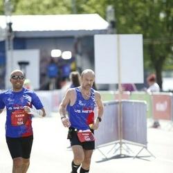 Tet Riga Marathon - Karim Hamadache (121), Gilles Charpentier (639)
