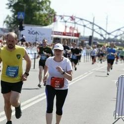Tet Riga Marathon - Aija Loca (1273), Damian Perez Vera (12388)