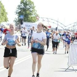 Tet Riga Marathon - Evija Zariņa (12408), Anželika Ivaņenko (16129)
