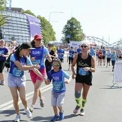 Tet Riga Marathon - Elīna Paliepa (12615), Gustavs Palieps (12617), Alise Puķāne-Zuģicka (13402)