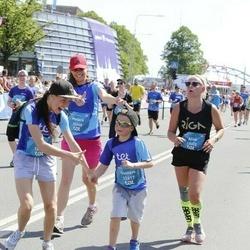 Tet Riga Marathon - Elīna Paliepa (12615), Gustavs Palieps (12617), Madara Štorha (12648), Alise Puķāne-Zuģicka (13402)