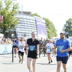 Tet Riga Marathon - Ene Luiga (12163), Silvar Nõu (12164)
