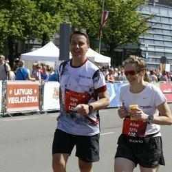 Tet Riga Marathon - Uģis Joksts (468), Alise Griķe (1274)