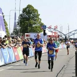 Tet Riga Marathon - Ainārs Kumpiņš (2153), Andris Drozds (21748)