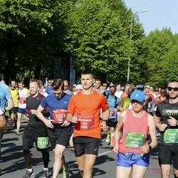 Tet Riga Marathon - Aliaksandr Grachulin (923), Barbara Kaczmarzyk (6352)