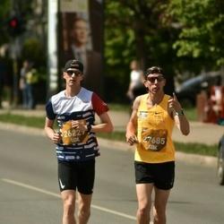 Tet Riga Marathon - Arnis Ozoliņš (26229), Aigars Feteris (27685)