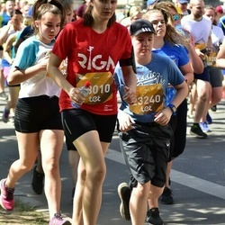 Tet Riga Marathon - Aina Sivko (18010), Aleksandrs Kadiševs (23240)