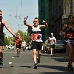 Tet Riga Marathon - Nigel Pointer (538), Tim Shea (569), Faatemah-Zehra Piperdy (731)