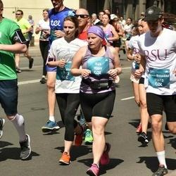 Tet Riga Marathon - Aija Valtere (9589), Tatsiana Beliai (12573)
