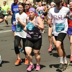 Tet Riga Marathon - Aija Valtere (9589), Sven-Benedikt Schlenker (11413), Tatsiana Beliai (12573)