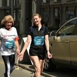 Tet Riga Marathon - Riina Liutkevicius (10409), Ene Luiga (12163)