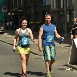 Tet Riga Marathon - Andrius Puskorius (9966), Guna Jākobsone-Šņepste (10107)